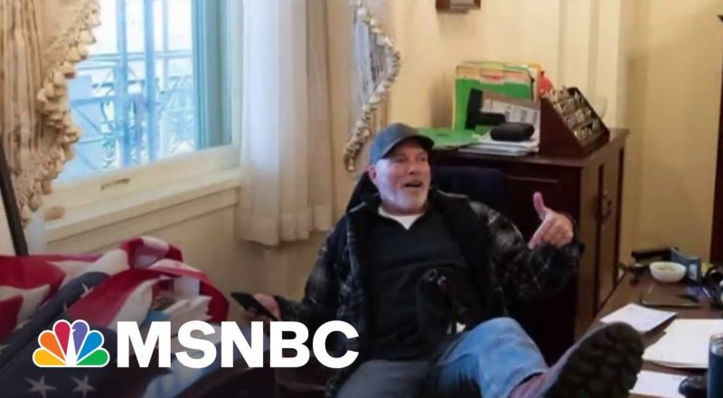 Jan. 6 Capitol Riot Defendant Richard Barnett Speaks With NBC News 1