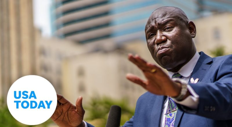 Who is Ben Crump, the man who represented George Floyd's family? | USA TODAY 3