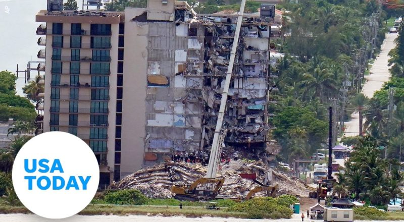 Miami-area officials give an update on rescue efforts at collapsed condo | USA TODAY 9