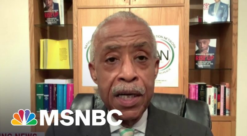 Sharpton On 'Determination' To Get Something Done On Voting Rights 1