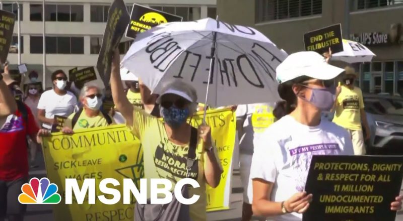 Activists Reach Day Four In Rally Through Texas To Protect Voting Rights 5