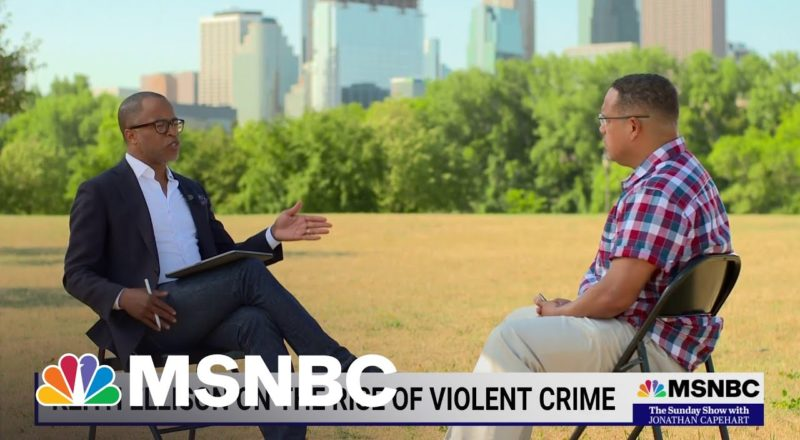 MN Attorney General Keith Ellison On The Violent Crime Sweeping The U.S. 1
