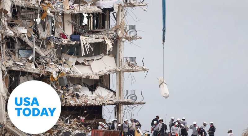 Officials provide an update on the collapsed condo in Surfside, Florida | USA TODAY 1