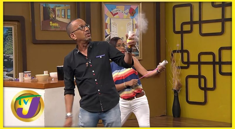 Mushroom Launcher Challenge   What Do You Know About June?   TVJ Smile Jamaica 1