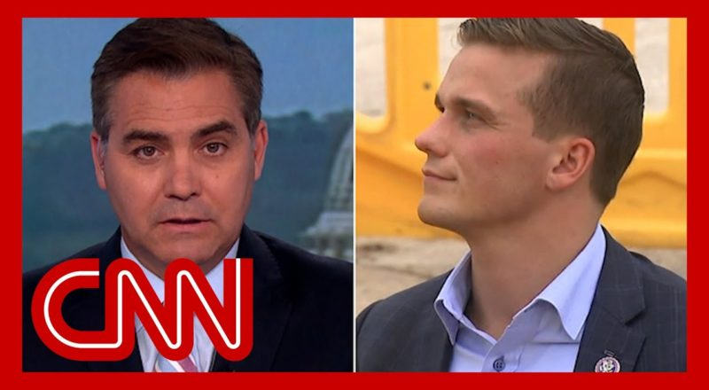 Acosta confronts Republican over support of Trump's election lie 1