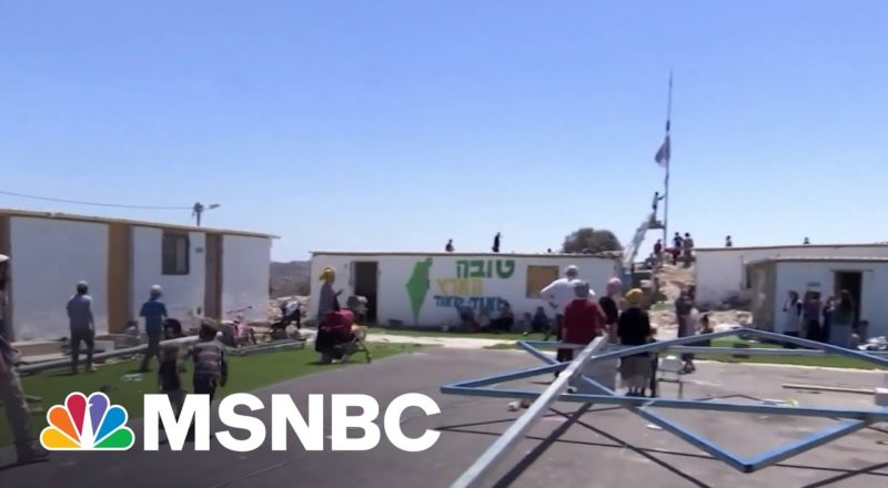 Israel New Government Compromises On West Bank Settlements | MSNBC 3