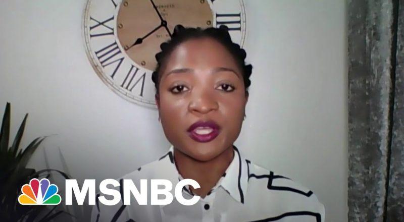 Black Swimming Association Co-Founder On Olympic Swim Cap Ban | MSNBC 9