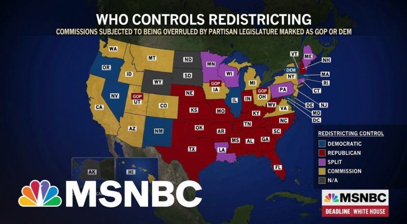 Democratic-Leaning Suburbs Pose Redistricting Challenges For GOP 5