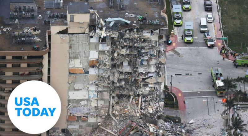 Officials provide an update on the collapsed condo in Surfside, Florida (LIVE) | USA TODAY 1