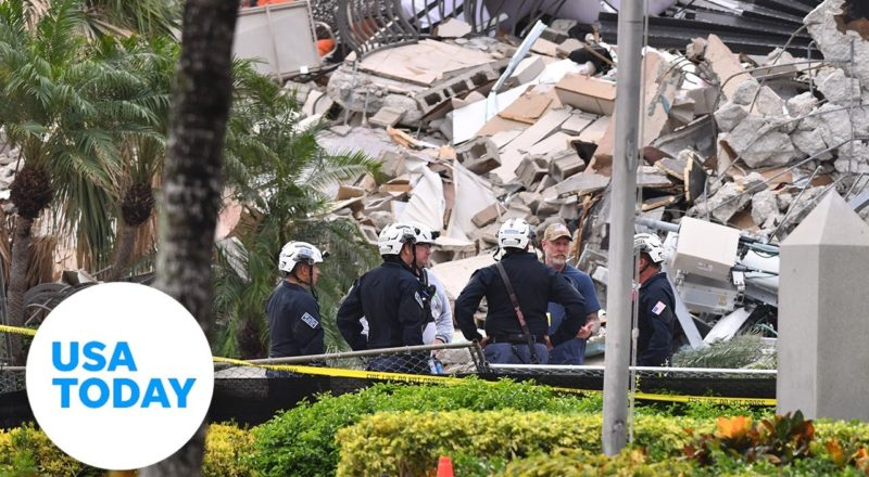 Update on search and rescue efforts at collapsed condo in Florida | USA TODAY 1