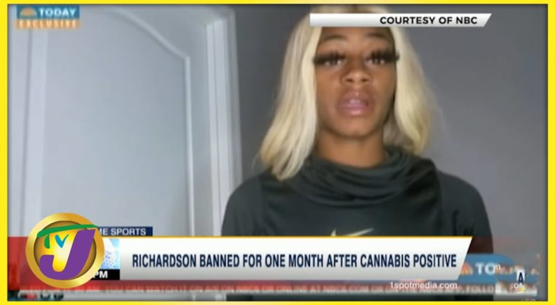 Sha'carri Richardson Banned for a Month After Cannabis Positive Results- July 2 2021 1