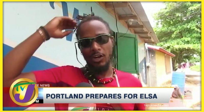 Portland Residents Prepare for Tropical Storm Elsa   TVJ News - July 2 2021 8