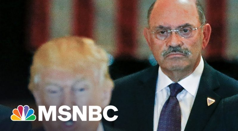 Ex-Trump Org. Exec On Weisselberg: Can't Imagine Him Going To Jail For Trump 1