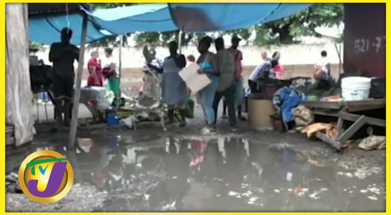 May Pen Market in Clarendon, Jamaica | TVJ News - July 3 2021 1