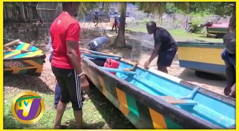 Fishermen Preparing for the Storm | TVJ News - July 3 2021 1