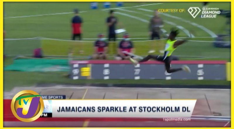 Jamaicans Sparkles at Stockholm Diamond League 2021 - July 4 2021 1