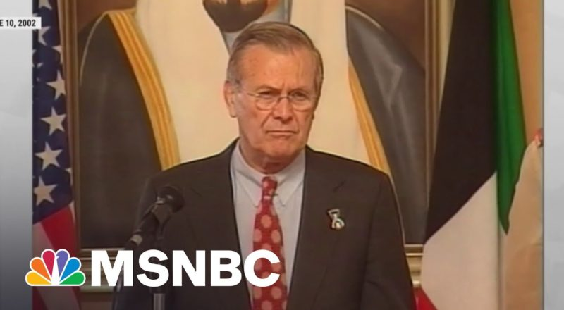 Donald Rumsfeld, Master At 'Lying About Consequential Things,' Dead At 88 2