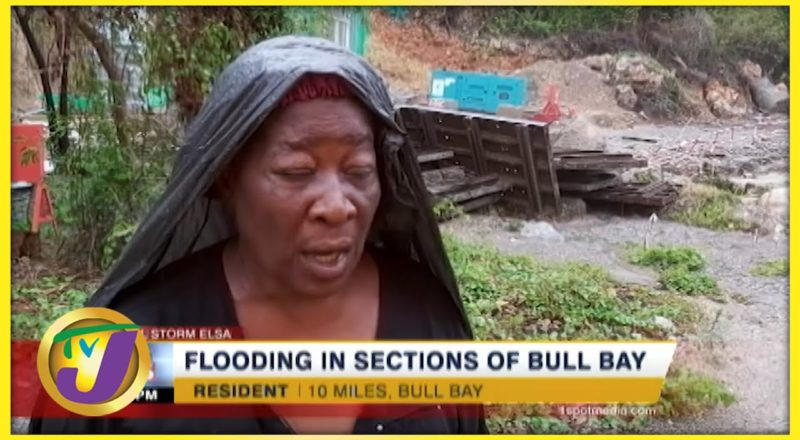 Flooding in Sections of Bull Bay, Jamaica   TVJ News - July 4 2021 1