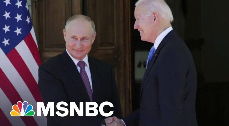 Russian Hacking Group Targets Software Company Kaseya | MSNBC 1