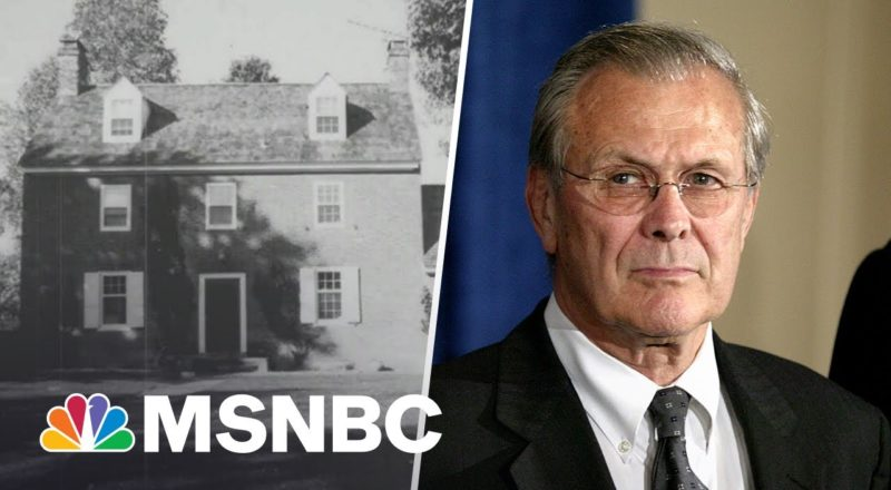 'Who Would Do That?': Rumsfeld Made 'Mount Misery' Plantation Getaway Home 1