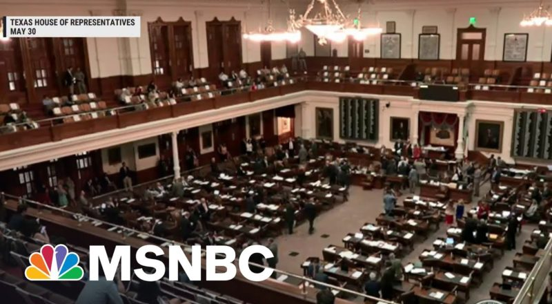 TX Dems Force GOP To Walk Back 'Horrendous' Provision To Overturn Elections 7