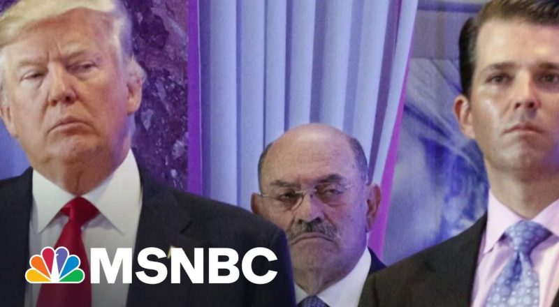 Trump Organization CFO Allen Weisselberg Surrenders | MSNBC 8
