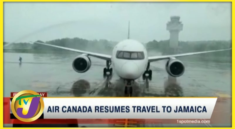 Air Canada Resumes Travel to Jamaica | TVJ Business Day - July 5 2021 3