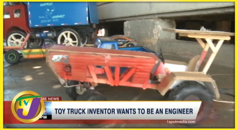 Toy Truck Inventor in Jamaica Wants to Be an Engineer | TVJ News - July 6 2021 1