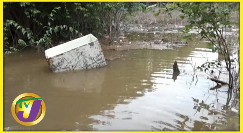 Clarendon Residents Hard Hit by Tropical Storm Elsa | TVJ News - July 5 2021 1
