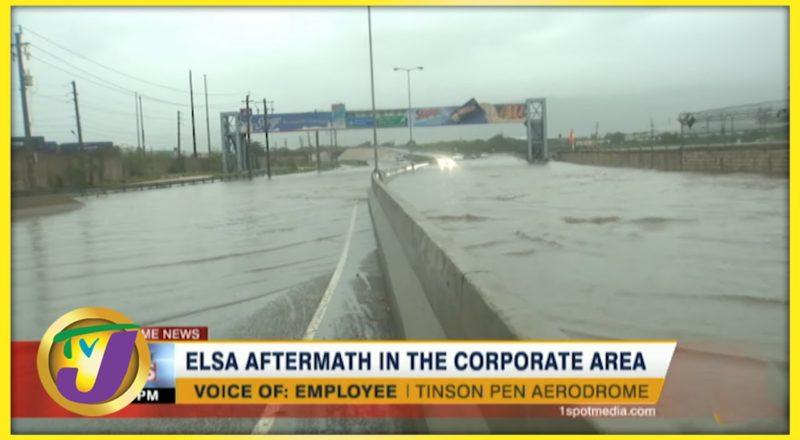 Tropical Storm Elsa Aftermath in Kingston Jamaica | TVJ News - July 5 2021 1