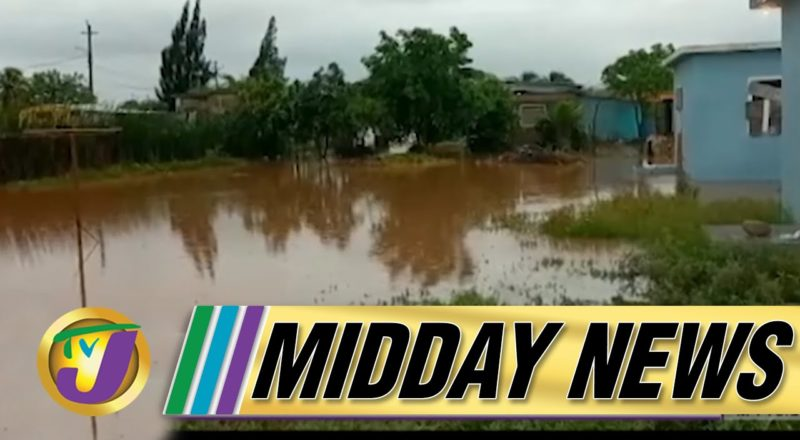 Flood Waters Continue to Rise   Elaine Thompson-Herah Runs Fast 10.71s 100m - July 6 2021 1