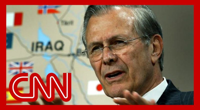 Donald Rumsfeld's legacy: The Iraq war and September 11th 4
