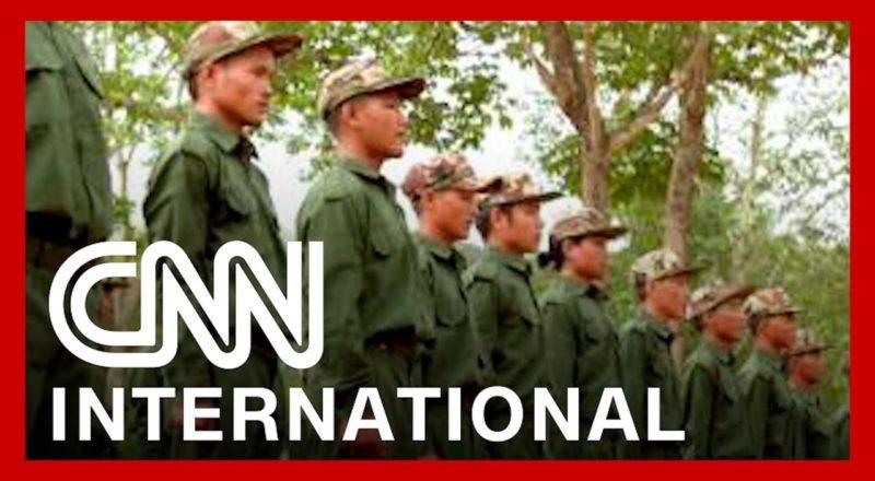 Rare look at the rebels fighting against Myanmar's military 1