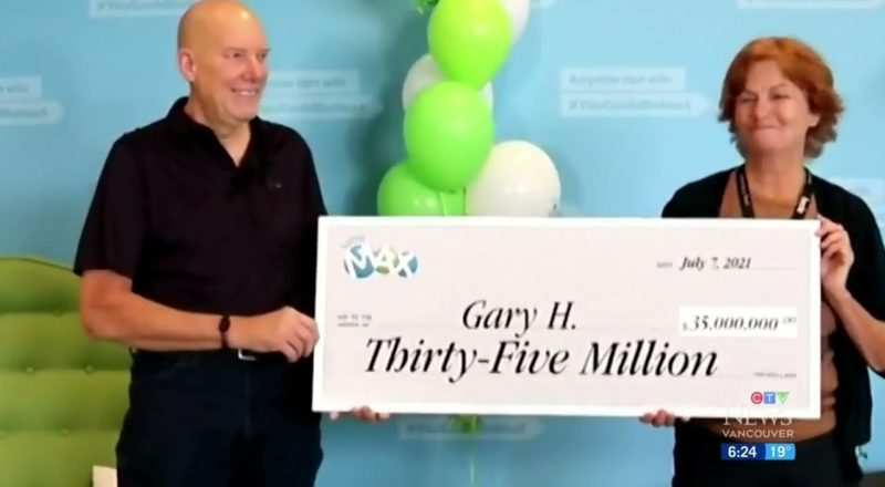 B.C. lotto winner comes forward to claim massive $35M prize | How will he spend it? 1