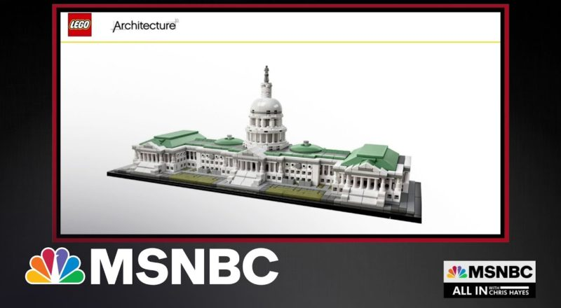 FBI Finds Lego Model Of U.S. Capitol In Home Of Riot Suspect 7