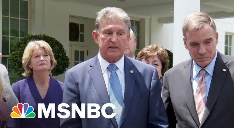 'Everybody Is Joe Manchin': Senate Could Consider Bipartisan Infrastructure Bill July 19 8