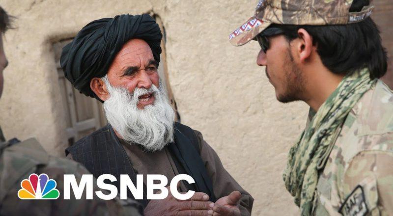 Urgency Grows For Evacuation Of Afghan Interpreters | MSNBC 9