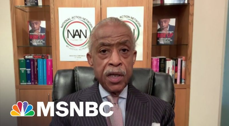 Rev. Sharpton Previews Today's Meeting With Biden, Civil Rights Groups 8