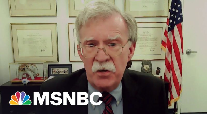 Bolton: Troop Withdrawal From Afghanistan 'Mistake Across The Board' 1