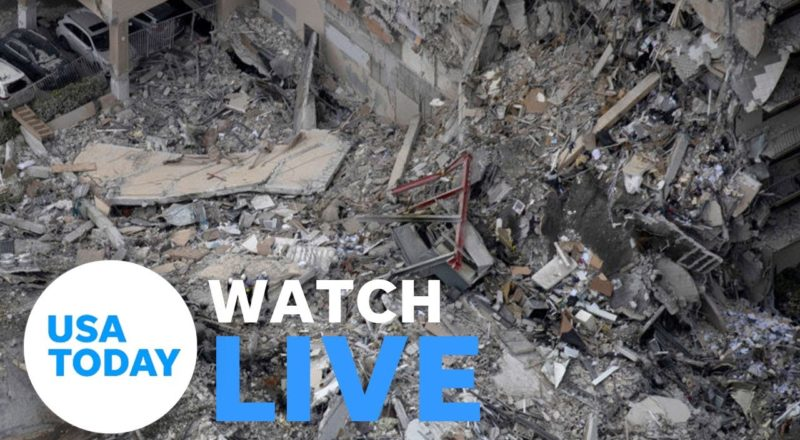 Officials provide an update on the collapsed condo in Surfside, Florida | USA TODAY 4