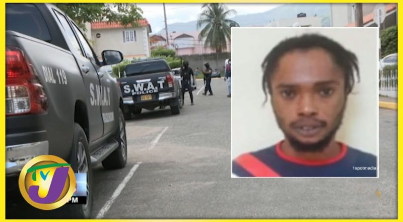 Alleged Member of the One Order Gang Caputered in St. Andrew, Jamaica   TVJ News - July 7 2021 1