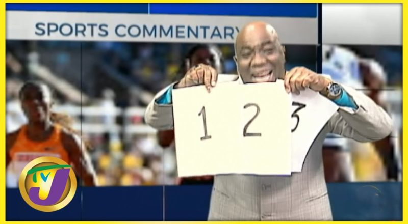 Tokyo Olympics 100m & 200m 1-2-3 Vision for Jamaica   TVJ Sports Jamaica - July 7 2021 1