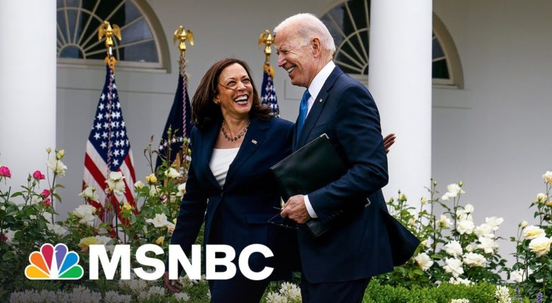 Biden, Harris Look To Show They're 'Not Forgetting About Voting Rights' 7