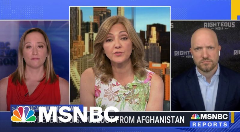 """Paul Rieckoff On Afghanistan Withdrawal: """"What We've Created May Fail."""" 1"""