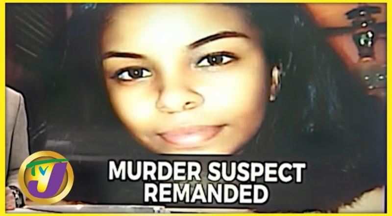 Suspect in Khanice Jackson Murder Remanded   TVJ News - July 8 2021 1
