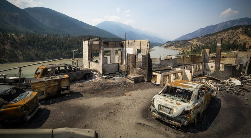 Lytton residents get first look at charred remains of community destroyed by fire 1