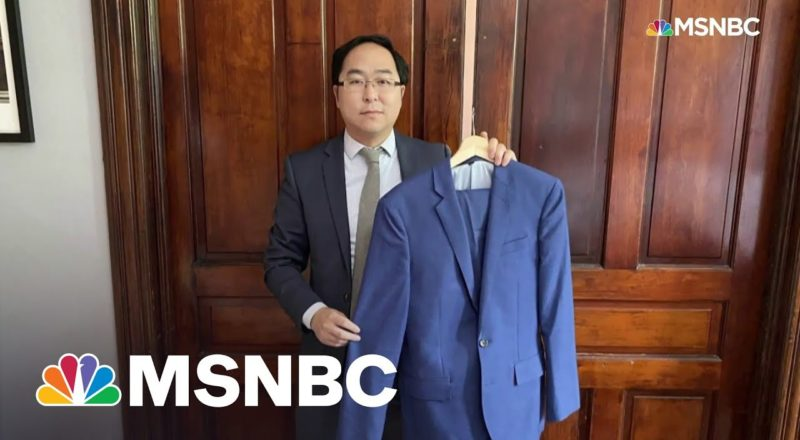 Rep. Kim Talks Donating Suit He Wore To Clean Up Capitol Riot To Smithsonian 2