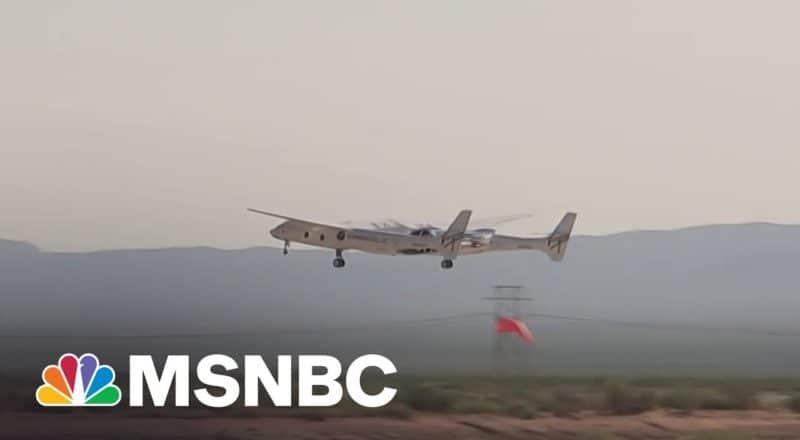 Watch: Virgin Galactic Spaceship Takes Off From Runway 2