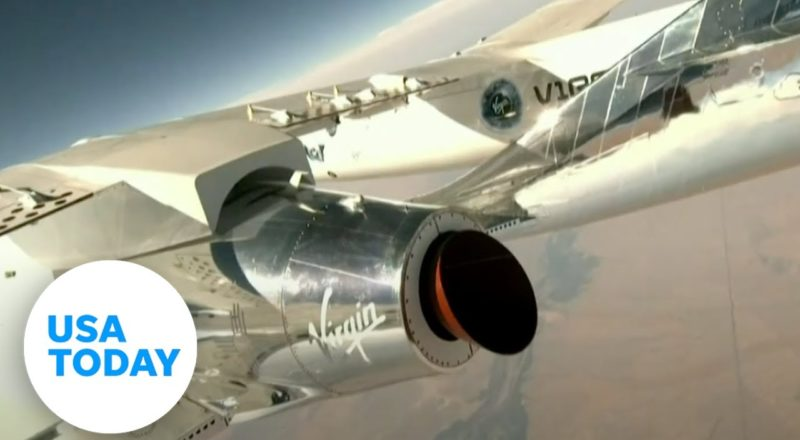 Virgin Galactic launches Unity 22 into space (LIVE) | USA TODAY 1