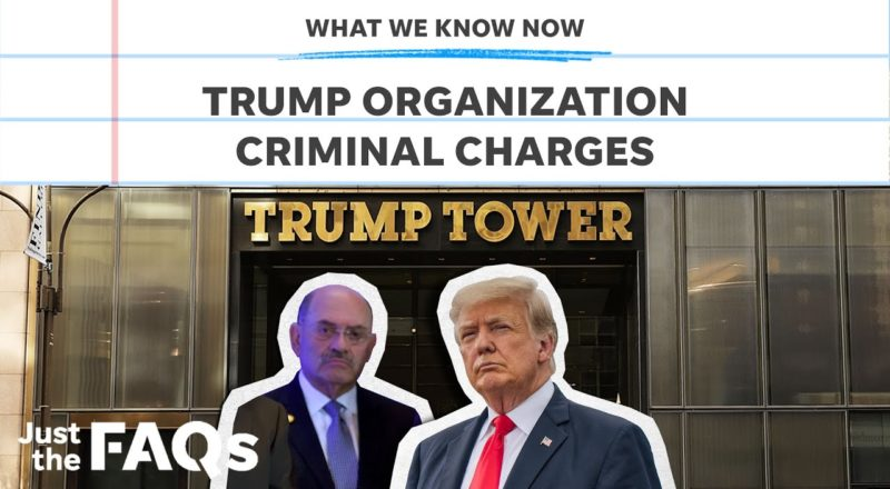 Trump Org, Weisselberg charged with tax fraud: Here's what we know | Just the FAQs 9